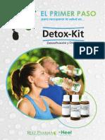 Folleto Detox Kit