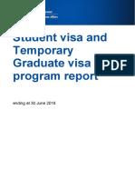 student temporary graduation program report jun 2018