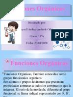 Funciones Orgánicas