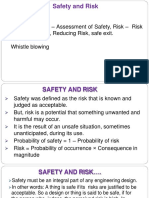 Safety & Risk II