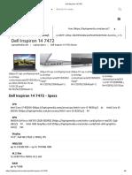 Dell Inspiron 14 7472