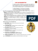 SEGUNDO GRADO  SEXTA SESION - LOS SACRAMENTOS - copia