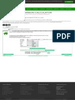 carbonfootprint.com - Carbon Footprint Calculator