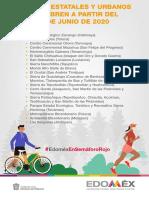 Parques estatales y urbanos Edomex 2020