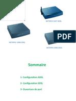 NETOPIA SDSL et ADSL.ppsx