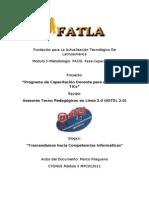 Fatla Metodolgia PACIE Fase Investigacion Marco Pilaguano