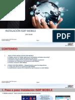 Instructivo ISDP Mobile (Instalacion aplicación)