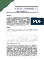 Criteerios Eticos Promocion Medicamentos