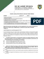 EXAMEN ACUMULATIVO PRIMER PERÍODO ECONOMÍA 10°