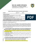 EXAMEN ACUMULATIVO PRIMER PERÍODO SOCIALES 10°