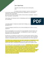 Introdução à contabilidade - Felipe Pontes