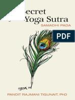 Rajmani Tigunait - The Secret of the Yoga Sutra Samadhi Pada - 2014.epub