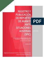 GUIA_RAPIDA_SISTEMA_DE_PUBLICACION_REPORTE_DE_AVANCE_SPIC