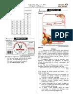 Simulado 18 (Port. 5º ano - Blog do Prof. Warles)
