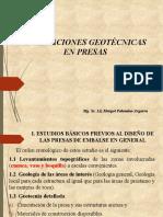EVALUACIONES GEOTECNICAS EN PRESAS