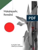 Tsetusuo Wakabayashi Revealed