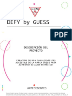 DEFY by GUESS