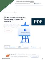 Vídeo online, animação, logotipo e criador de website _ Renderforest