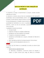 CRITÉRIOS DE PROJETO PARA SELEÇÃO DE MATERIAIS.docx