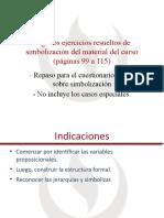 Algunos ejercicios resueltos de simbolización del material del curso (Repaso para el cuestionario online) (1) UPC