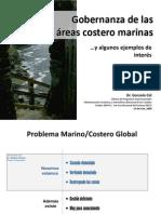 Gobernanza de Las Areas Costero Marinas