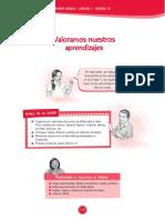 SESION DE APRENDIZAJE PRIMER GRADO