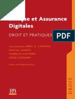 Banque et Assurance digitales_Droit et pratiques