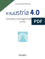Industria 4.0; Conceptos, Tecnologías Habilitadoras y Retos - Enrique Rodal
