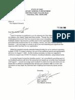Food Bank Letter