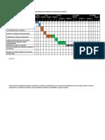 CRONOGRAMA DE ACTIVIDADES DE LA AUDITORIA DE GESTIÓN