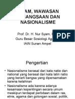 Islam Wawasan Kebangsaan Dan Nasionalisme