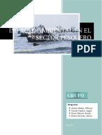 IMPACTO AMBIENTAL EN EL SECTOR PESQUERO- GRUPO 2