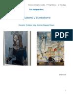 Tarea - Cubismo y Surrealismo 18.05.2020
