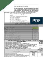 Planilha de BDI (modelo)
