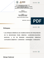 planeacion didactica , enfoque, elementos y objetivos