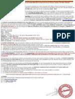 INFORMATION DE DÉPÔT DE DOSSIER BOURSE D'ÉTUDE EMPLOI 2020-2021