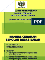 Manual Ceramah Sekolah Bebas Dadah