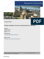 DESIGN OF ADAPTIVE STRUCTURES WITH PIEZOELECTRIC MATERIALS