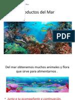 Productos del Mar