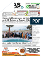 Mijas Semanal Nº 897 Del 26 de junio al 2 de julio de 2020