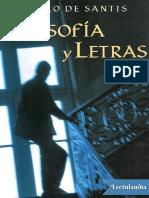 Filosofia y Letras - Pablo de Santis.pdf