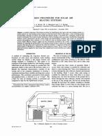 Klein (1977) - Design procedure for solar air heating systems