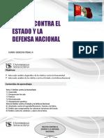 DELITOS CONTRA EL ESTADO Y LA DEFENSA NACIONAL
