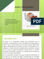 Evalucion De Proyectos ACQUAVITA p