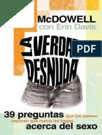 La Verdad Desnuda (Josh McDowell)