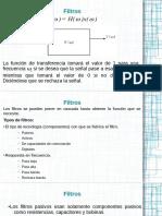 ELECTRÓNICA III - Intro Filtros Activos y Pasa Bajas