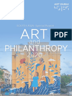 Art and Philanthropy South Asia Report 2020