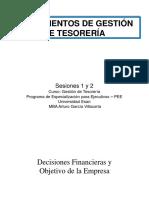 Esan - PEE - Gestión de Tesorería - Ses. 1 y 2x