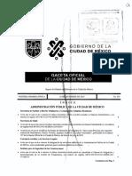 Acuerdo de publicación del manual de integración del Comité de Transparencia del ISc