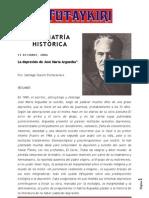 La depresión de José María Arguedas